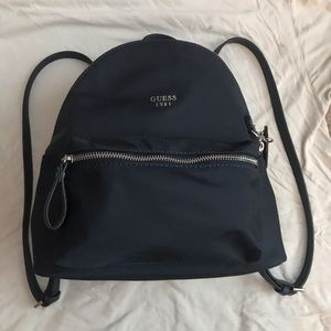 Guess Womens Mini Backpack Navy Blue
